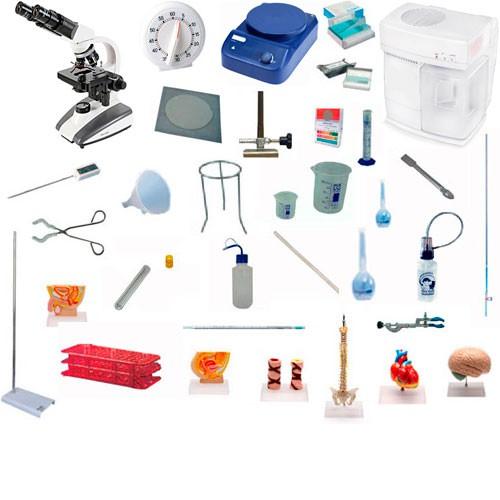 Suprimentos para laboratorio