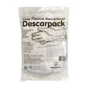 Luvas de plástico descartáveis preço