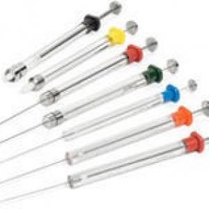 Microseringa para cromatografia gasosa