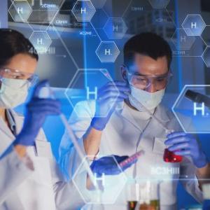 Reagentes químicos para laboratório